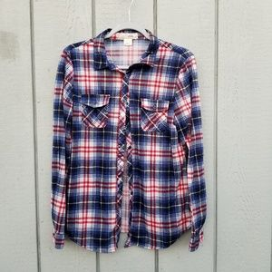 BELLA D FLANNEL SHIRT